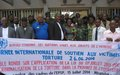 Little breakthrough in the fight against torture in Equateur Province, stakeholders notice