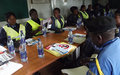 Kalemie : MONUSCO raises awareness among local police about sexual violence issues