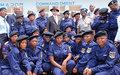 Est du pays : un soutien  important à la formation de la police nationale  congolaise