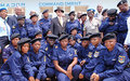 Eastern DRC: Substantial  support for  Congolese  Police  training