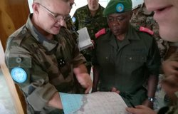 MONUSCO deploys troops to protect civilian in Uvira