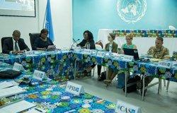 Atelier de lutte contre l'EAS initié par la CDT et les Seniors Management de la MONUSCO (Fév.-2017)