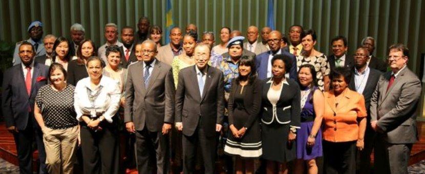 Rencontre entre le Secrétaire général de l'ONU et le personnel onusien en RDC