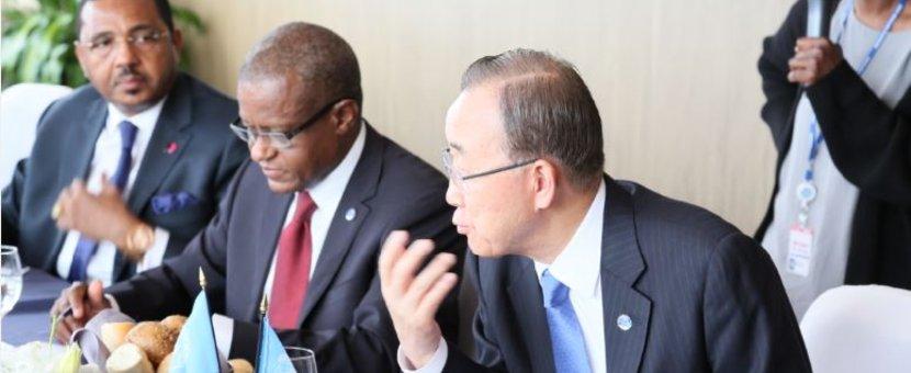 RDC : Ban Ki-moon s'inquiète des tensions politiques et appelle à la retenue