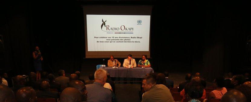 Slide show on the 15th anniversary of Radio Okapi