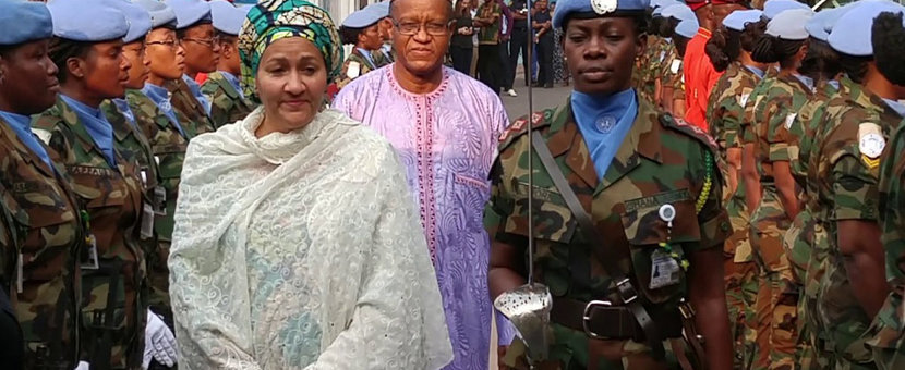 Peace is the 'bedrock' for women's development and human rights UN deputy chief says in DR Congo