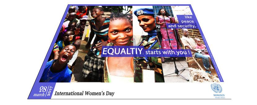 International Women's Day celebrated by MONUSCO