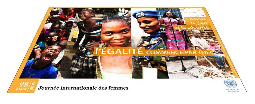 Journée internationale de la femme célébrée par la MONUSCO